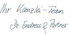 Signatur Unterschrift